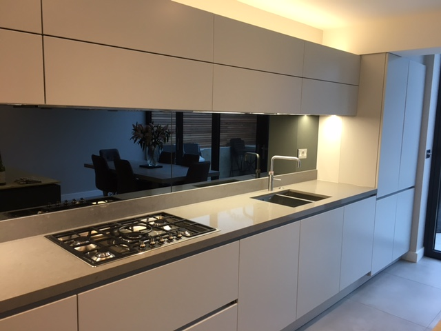 Back Painted Mirror Glass Splashbacks Chelsea Glass