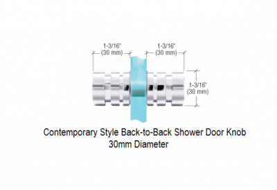 contemporary-style-back-toback-shower-door-knob